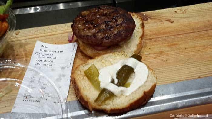 המבורגור אנטריקוט
